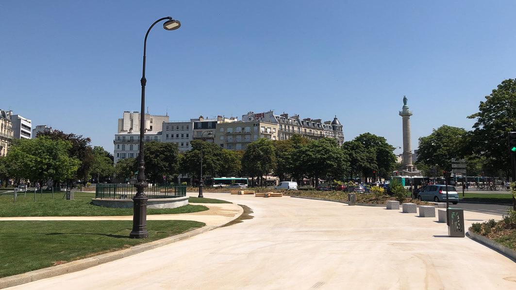 Place de la Nation, Paris 12e (75)