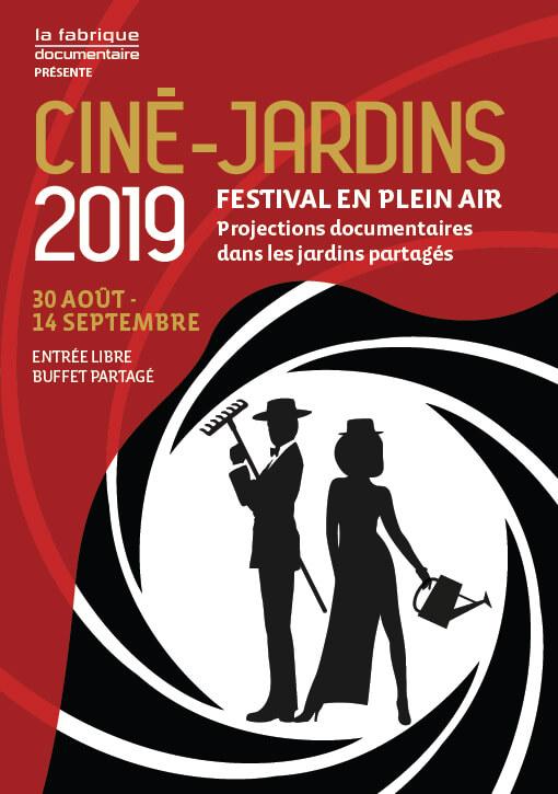 Affiche du Festival Ciné-Jardins 2019
