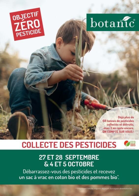 Nouvelle collecte nationale de pesticides avec Botanic