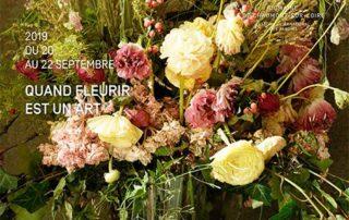 """Événement """"Quand fleurir est un art"""" les vendredi 20, samedi 21 et dimanche 22 septembre 2019"""