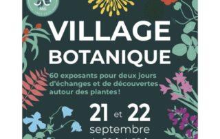 Village Botanique au Parc Floral de Paris, septembre 2019