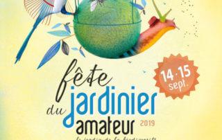 Affiche de la 42ème édition de la Fête du jardinier amateur, Thiais (94), septembre 2019