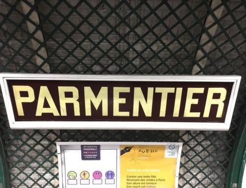 Métro Parmentier : la pomme de terre s'expose sous terre !