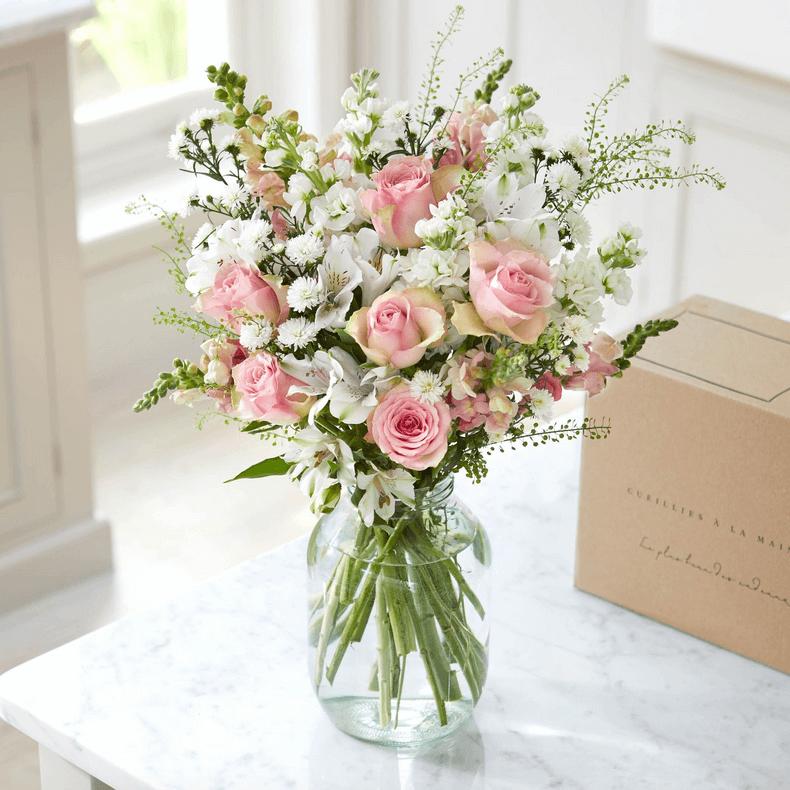 Bouquet Marcelle, fleurs coupées, Bloom & Wild, Paris, octobre 2019