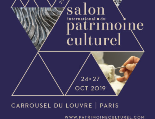 Salon International du Patrimoine Culturel du 24 au 27 octobre 2019