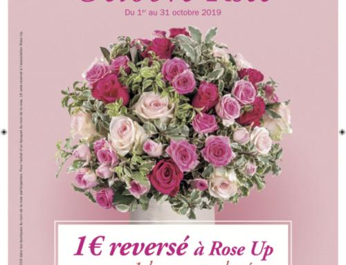 Au nom de la rose  et ROSE UP unies par une même couleur pour une grande cause