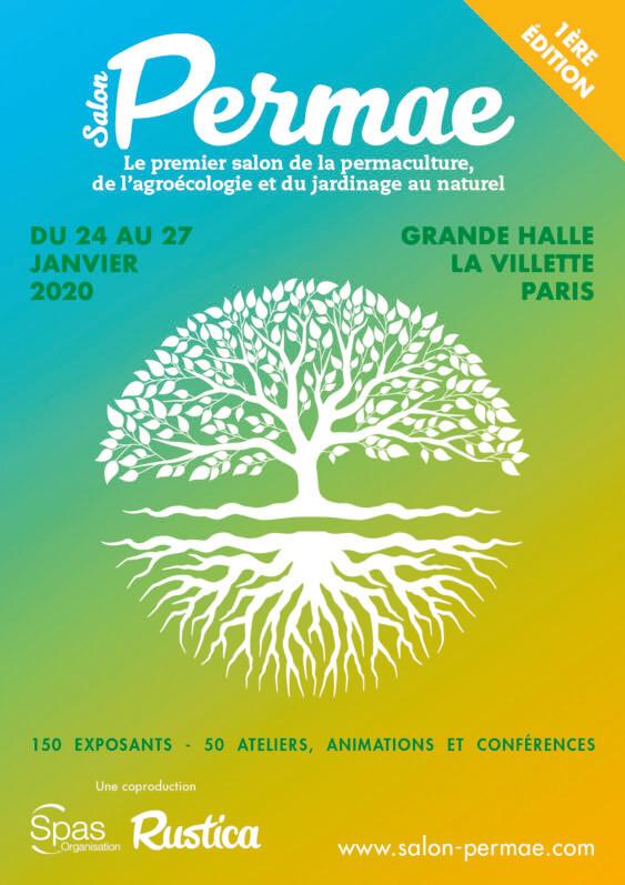 Salon Permae, SPAS et Rustica, La Villette, Paris, janvier 2020