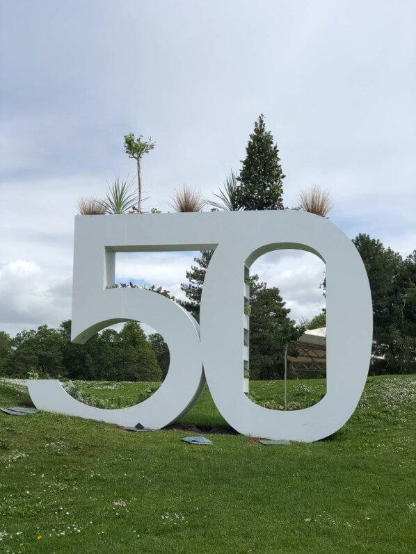 Anniversaire, 50 ans du Parc Floral de Paris, Paris 12e (75)