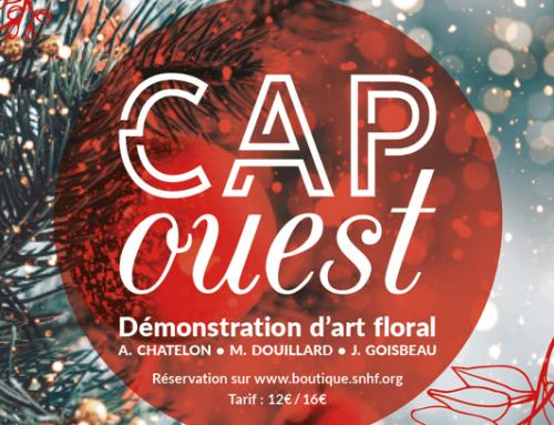 Deux journées dédiées à l'art floral à la SNHF les 27 et 28 novembre 2019