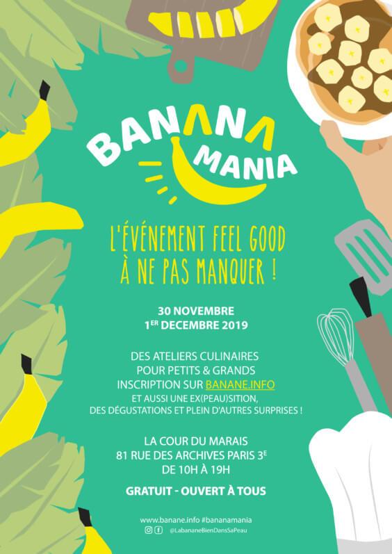2e édition de BananaMania, Paris 3ème (75)
