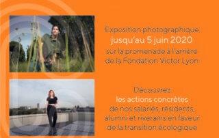 « Small actions big change », exposition du photographe Vincent Jarousseau, Cité internationale universitaire de Paris, Paris 14e (75)