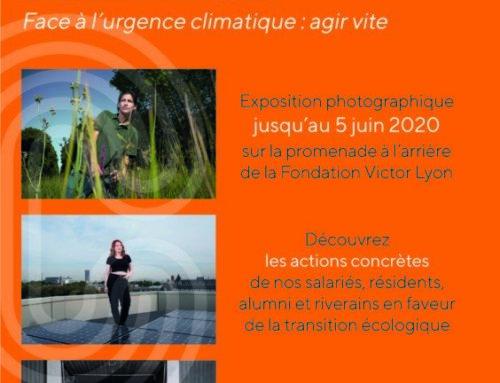 Exposition photographique «Small actions, big change» jusqu'au 5 juin 2020