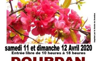 Affiche du Salon des Plantes, Dourdan (91), 11 et 12 avril 2020