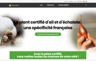 Un nouveau site Internet pour l'ail et l'échalote, plants certifiés, GNIS et Prosemail