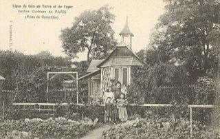 Jardins ouvriers de Paris, Ligue du Coin de Terre et du Foyer, Écomusée du Val de Bièvre, Fresnes (94)
