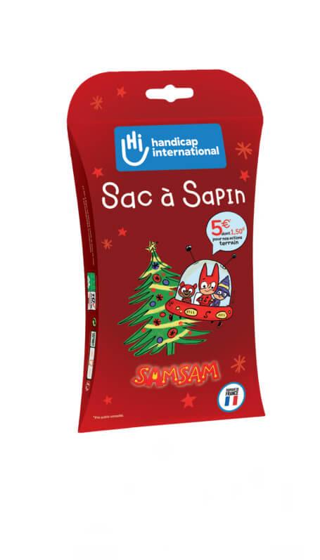 Sac à Sapin, Handicap International