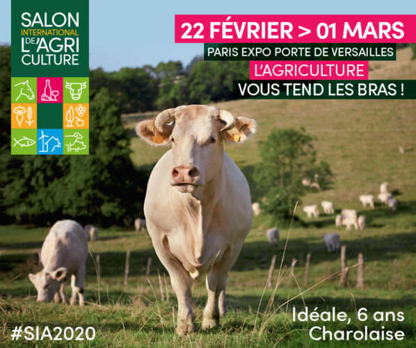 Salon International de l'Agriculture, Paris (75), 22 février au 1er mars 2020