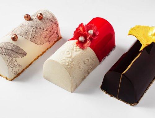 Ginkgo, camélia et oiseau de paradis en version gourmande