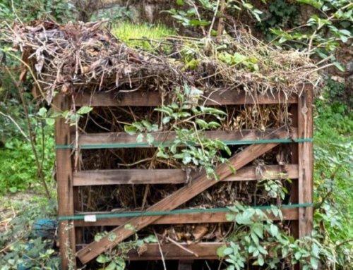 Pas de silo à compost trop aéré