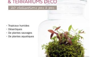 Mini-jardins de verre & terrariums déco, 20 réalisations pas à pas, Gabriel Primetens, Éditions Ulmer, janvier 2020