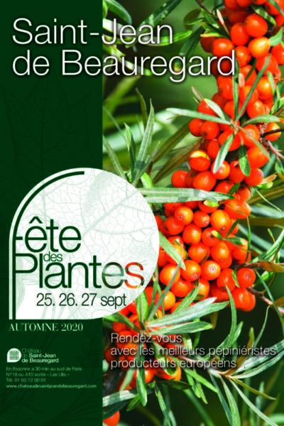 Fête des Plantes d'Automne, Château de Saint-Jean de Beauregard (91), 25, 26 et 27 septembre 2020