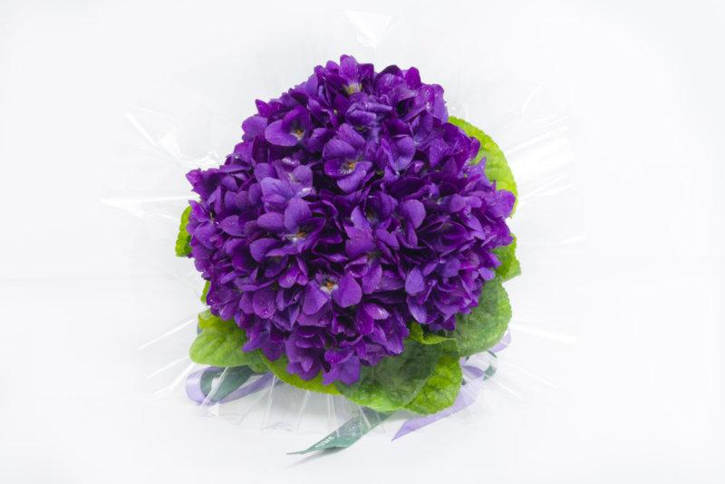 Bouquet de violettes, Saint-Valentin, Lachaume