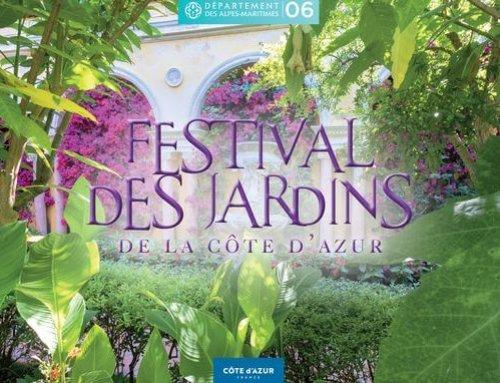Festival des Jardins de la Côte d'Azur : lancement du concours de créations paysagères