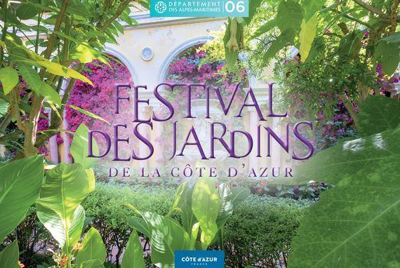 """Festival des Jardins de la Côte d'Azur, rendez-vous du 27 mars au 28 avril 2021 avec une nouvelle thématique : """"Jardins d'Artistes""""."""