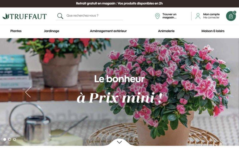 Nouveau site internet truffaut.com