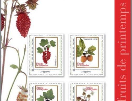 Collectors de timbres fruits et légumes de nos jardins