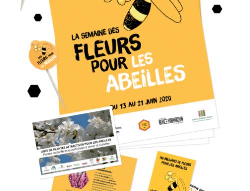 Semaine des fleurs pour les abeilles – Inscriptions ouvertes pour les professionnels