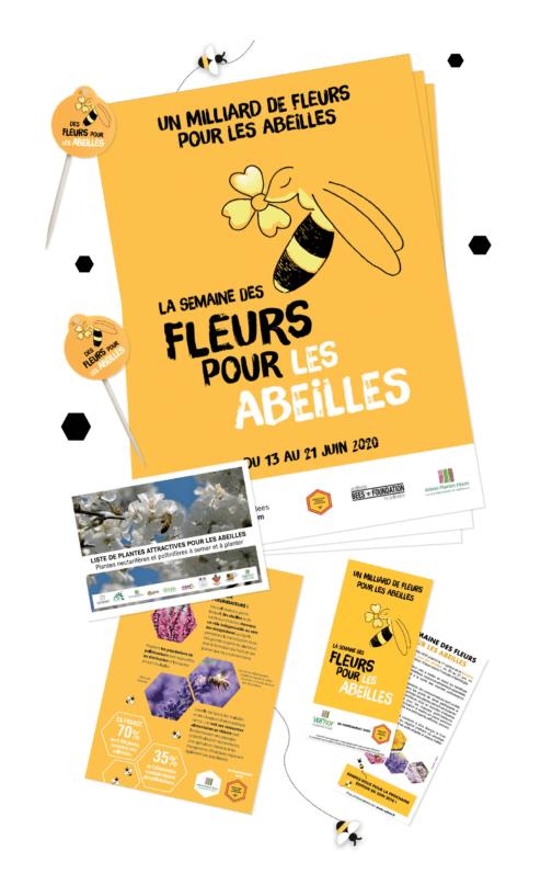 Kit de communication pour la Semaine des fleurs pour les abeilles 2020