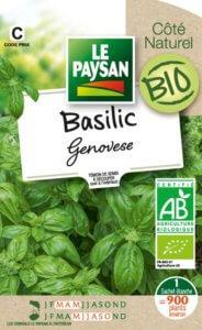 Basilic Genovese Bio, Le Paysan