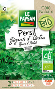 Persil Gigante d'Italia Bio, Le Paysan