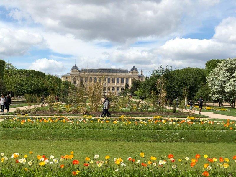 Au printemps dans le Jardin des Plantes, Paris 5e (75), 1er mai 2018, photo Alain Delavie
