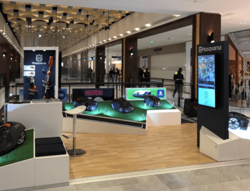 Husqvarna, ouverture d'un pop-up store à Parly 2