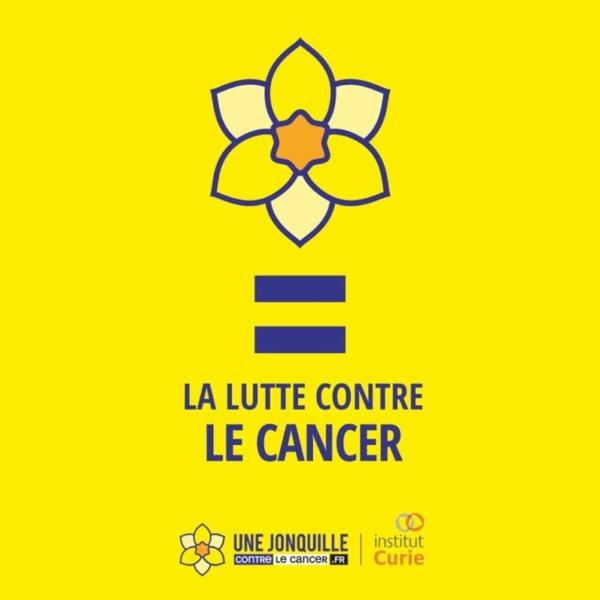 Une jonquille contre le cancer, Institut Curie, mars 2020