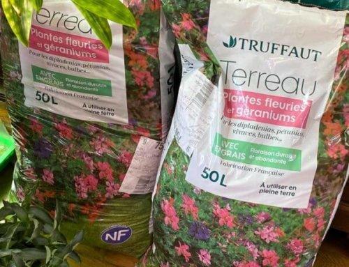 Réserve de terreau pour jardinier urbain confiné