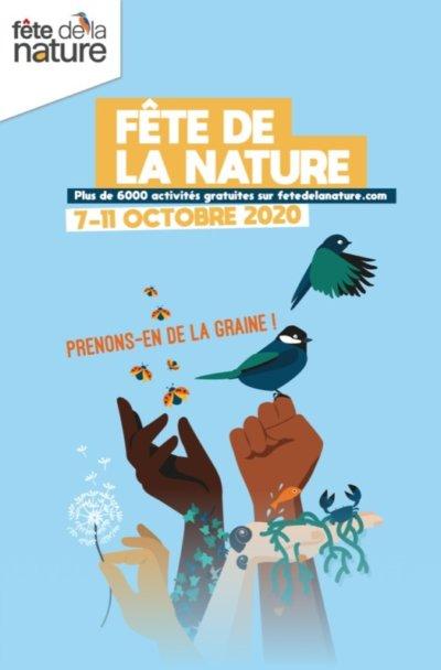 14ème édition de la Fête de la Nature, toute la France, 7 au 11 octobre 2020