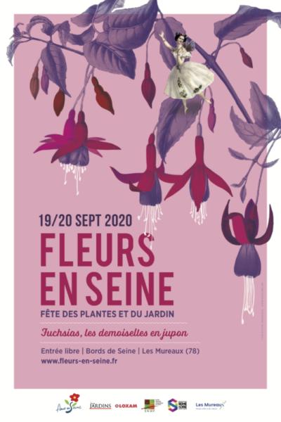 Fleurs en Seine, Les Mureaux (78), 19 et 20 septembre 2020
