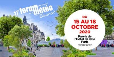 Forum International de la Météo et du Climat, Paris (75), 15 au 18 octobre 2020