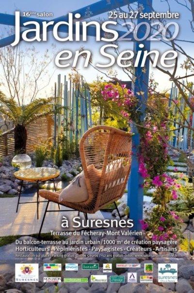 Jardins en Seine, terrasse du Fécheray, Suresnes (92), 25, 26 et 27 septembre 2020