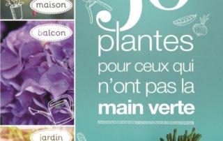 50 plantes pour ceux qui n'ont pas la main verte, Jamie Butterworth,Odile Koenig, éditions Delachaux et Niestlé, juin 2020