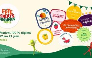 La Fête des fruits et légumes frais revient cette année en édition 2.0 du 12 au 21 juin 2020.