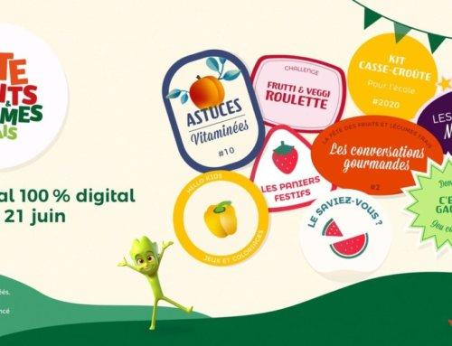 Fête des fruits et légumes frais en édition 2.0 du 12 au 21 juin 2020