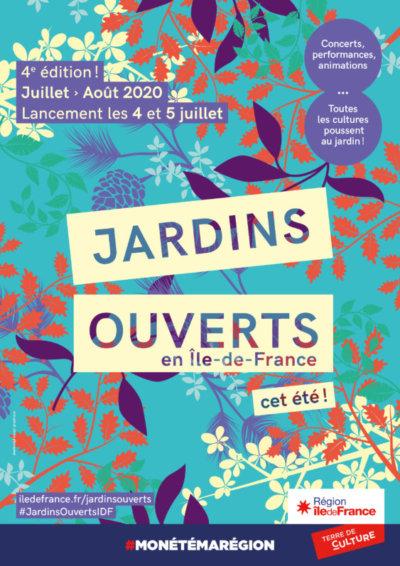 Jardins Ouverts en Île-de-France, juillet 2020