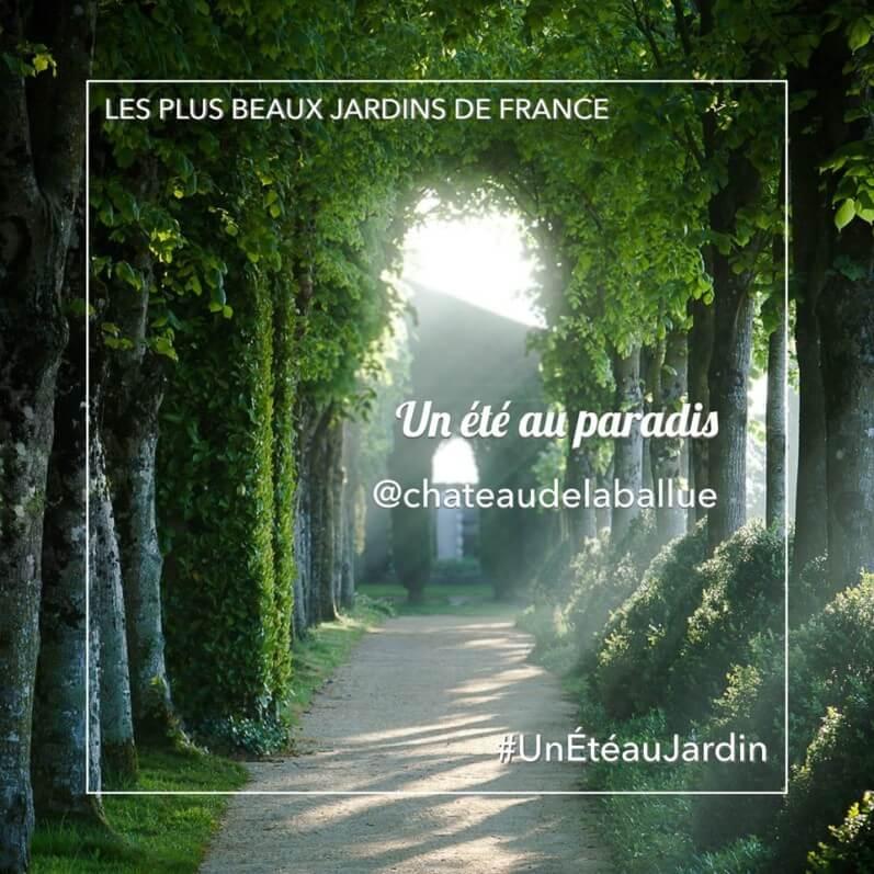 Les plus beaux jardins de France, Château de la Ballue, UnEteauJardin