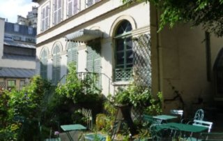 Musée de la Vie romantique et sa terrasse, Paris 9e (75)n photo Paris Musées DR