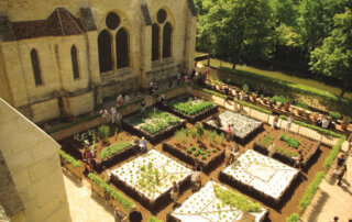 95-Jardin médiéval de l'abbaye de Royaumont © Jérôme Johnson