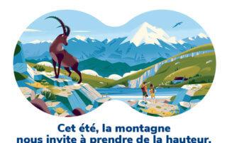 La montagne, visuel de la campagne L'été de la biodiversité, OFB